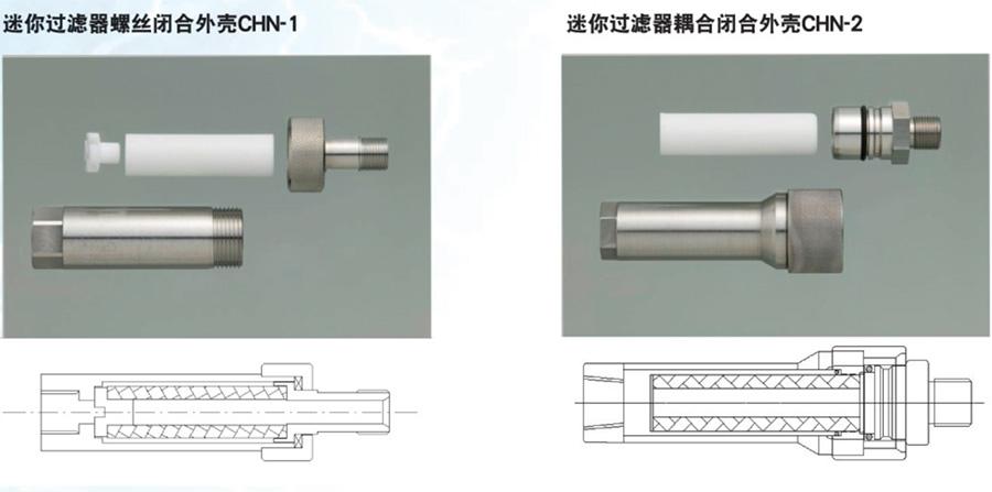 JNC小流量迷你过滤器(CHN-1、CHN-1)