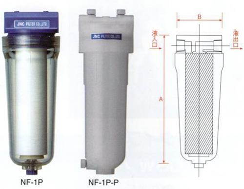 JNC单芯塑料过滤器